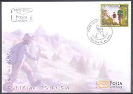 2013, FDC, Tourism, Montenegro, MNH - Montenegro