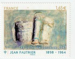 TIMBRE -  2014  -  N°  4888 -  Série Artistique , Personnalité , Jean Fautrier -  Neuf Sans Charnière - Frankreich