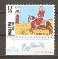 España/Spain-(MNH/**) - Edifil  2774 + Viñeta - Yvert 2392 - 1931-Today: 2nd Rep - ... Juan Carlos I