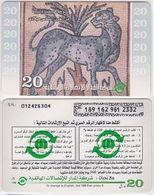 163/ Libya; Prepaid, Mosaic - Libia