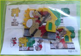 KINDER PUZZLE K99 N10 FRANCE - Puzzles