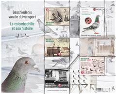 Belg. 2020 - La Colombophilie Et Son Histoire (Pigeon) ** Geschiedenis V/d Duivensport ** Zéér Mooi! - Belgium