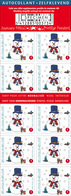Belgie Boekje Carnet B123**  Xmas Noel Kerstmis 4192** Christmas Navidad  Weihnachten Natale - Booklets 1953-....