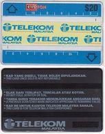 174/ Malaysia; P23. Telecom Logos 3, CN 303G - Malaysia