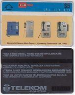 175/ Malaysia; P24. Wall Telephones, CN 307A - Malaysia