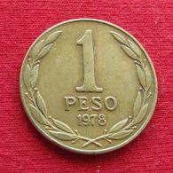 Chile 1 Peso 1978 KM# 208a  Chili - Chili