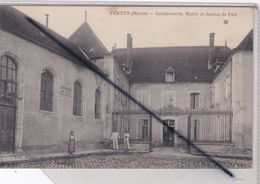 Vertus (51) Gendarmerie, Mairie Et Justice De Paix (petite Animation) - Vertus