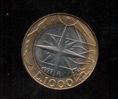 1000 LIRAS 1999 KM395 - Saint-Marin