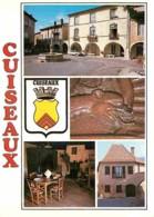 71 - Cuiseaux - Multivues - Blasons - Automobiles - Carte Neuve - CPM - Voir Scans Recto-Verso - France