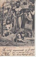 ARGENTINA - Recuerdo Del GRAN CHACO- Cacique Toba Con Sus Mujeres  ( Nus Ethniques )  PRIX FIXE - Argentina
