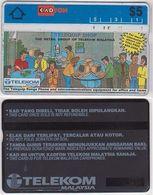179/ Malaysia; Advertising Card A1. Telequip Shop, CN 301A - Malaysia