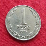 Chile 1 Peso 1976 KM# 208  Chili - Chili