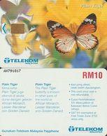 183/ Malaysia; Butterfly - Plain Tiger - Malaysia