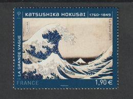 TIMBRE -  2015  -  N° 4923 - Série Artistique ,Personnalité , Katsushika Hokusai - Neuf Sans Charnière - France