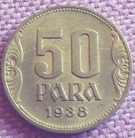 JOEGOSLAVIË ;50  PARA 1938 KM 18 UNC - Yugoslavia