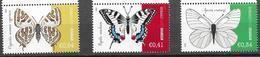 CYPRUS, 2020, MNH, BUTTERFLIES,3v - Butterflies