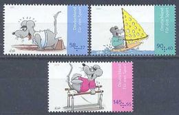 2013Germany3004-3006Sports In Children's Drawings8,30 € - Unused Stamps