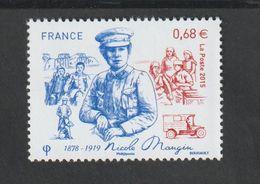 TIMBRE -  2015  -  N° 4936 - Personnalité , Nicole Mangin , Médecin Français  -  Neuf Sans Charnière - France