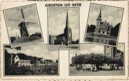 GROETEN UIT RETIE    ANTWERPEN  ANVERS Bélgica Belgique - Retie