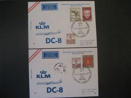 Österreich 1973- Erstflug Wien - Kairo - Bangkok - Kuala Lumpur - Djakarta, Und Wien - Bangkok Mit KLM - Airmail