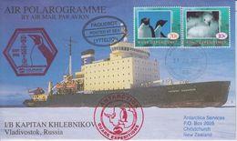Ross Dependency Antarctica 2002 Ship Post Kapitan Khlebnikov Quark Expeditions - Dépendance De Ross (Nouvelle Zélande)