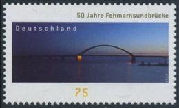 2013Germany3001Bridges - Unused Stamps