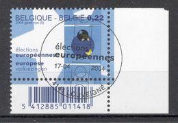 BELGIE: COB 3255 Eerste Dag Afstempeling. - Bélgica