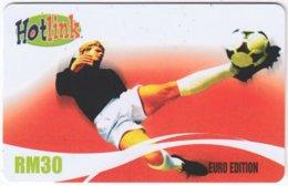 MALAYSIA A-549 Prepaid Maxis - Sport, Soccer - Used - Malaysia