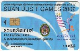 THAILAND G-016 Chip TOT - Used - Thaïlande