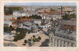 CPA ROUMANIE BUCAREST Vue Générale 1918 - Rumänien