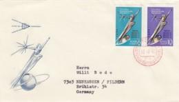 USSR Raketen / Aerospace Cover 1962 Ungezahnt - Non Classificati