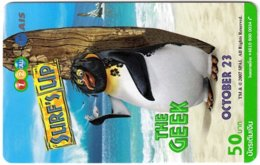 THAILAND G-981 Prepaid 1-2-Call - Cinema, Surf's Up - Used - Thaïlande