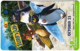 THAILAND G-983 Prepaid 1-2-Call - Cinema, Surf's Up - Used - Thaïlande
