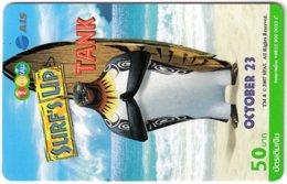 THAILAND G-985 Prepaid 1-2-Call - Cinema, Surf's Up - Used - Thaïlande