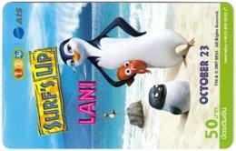 THAILAND G-987 Prepaid 1-2-Call - Cinema, Surf's Up - Used - Thaïlande