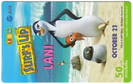 THAILAND G-988 Prepaid 1-2-Call - Cinema, Surf's Up - Used - Thaïlande