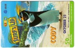 THAILAND G-990 Prepaid 1-2-Call - Cinema, Surf's Up - Used - Thaïlande