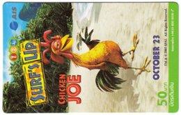 THAILAND G-992 Prepaid 1-2-Call - Cinema, Surf's Up - Used - Thaïlande