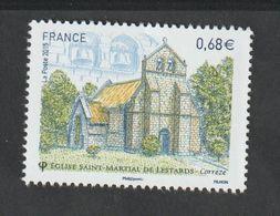 TIMBRE -  2015  -  N° 4967 - Série Touristique Eglise St-Martial De Lestards   Neuf Sans Charnière - France
