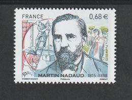 TIMBRE -  2015  -  N° 4968 - Personnalité , Martin Nadaud -   Neuf Sans Charnière - France