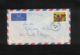 Zanzibar Interesting Airmail Letter - Zanzibar (1963-1968)