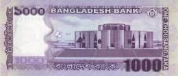BANGLADESH P. 59a 1000 T 2011 UNC - Bangladesh