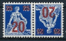 Zumstein K16 / Michel K16 - Einwandfrei Postfrisch/** MNH - Kehrdrucke