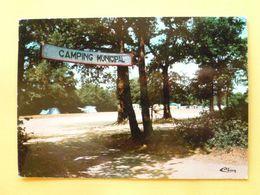 V10-85-vendee-moutiers Les Mauxfaits- Le Terrain De Camping- Du Bois Des Bouquets-- - Moutiers Les Mauxfaits
