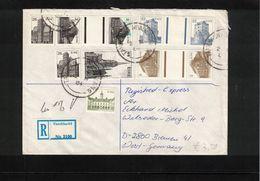 Ireland 1984 Interesting Registered Letter - 1949-... Republic Of Ireland