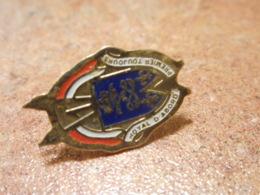 Lot 061 -- Pin's Royal D'Abord Premier Toujours - Militaria