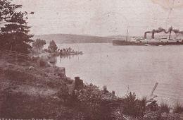 AUSTRALIE. TASMANIE.  T.S.S. LOONGANA. Tamar River  (+ Timbre Tasmania 1 1/2d Sur 5d    1909) - Other