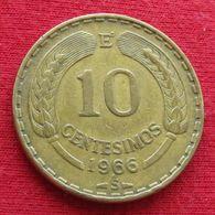 Chile 10 Centesimos 1966 KM# 191 Chili - Chili