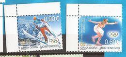 2006 112-13   MONTENEGRO  CRNA GORA  SPORT OLYMPIADI WINTERSPIELE  NEVER HINGED - Montenegro