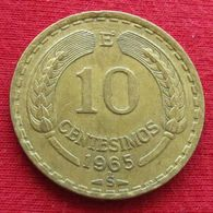 Chile 10 Centesimos 1965 KM# 191 Chili - Chili